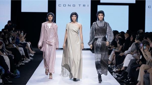 Tân Hoa hậu Đỗ Thị Hà căng thẳng khi lần đầu catwalk cùng hai 'đàn chị' Tiểu Vy và Lương Thùy Linh