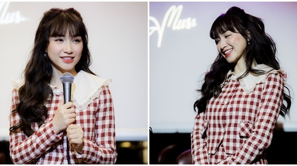 Hòa Minzy 'toát mồ hôi' khi liên tục hát sai tông, may mắn vẫn 'chữa cháy' kịp khi cover 'Buồn làm chi em ơi'