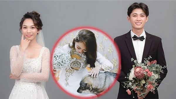 Clip: Cô chủ đi lấy chồng, cún cưng buồn thiu, dụi đầu vào váy khóc khiến ai nhìn cũng thương