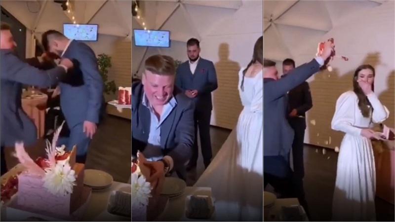 Đám cưới trở thành thảm họa vì hành động điên rồ của vị khách mời say rượu