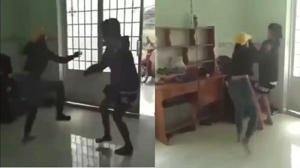 Kỷ luật hai nữ sinh lớp 7 và lớp 8 đấm đá túi bụi học sinh lớp 6 tại Đồng Nai