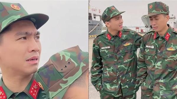 Lộ clip trong màu áo lính, dân tình nghi vấn PewPew tham gia Sao Nhập Ngũ
