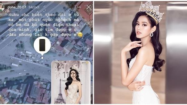 Hoa hậu Đỗ Thị Hà buồn bã vì làm rơi vật vô cùng quan trọng