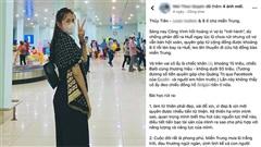 Vô tư 'bóc giá' đồ Thủy Tiên mặc đi cứu trợ miền Trung, nữ MC bị chỉ trích gay gắt