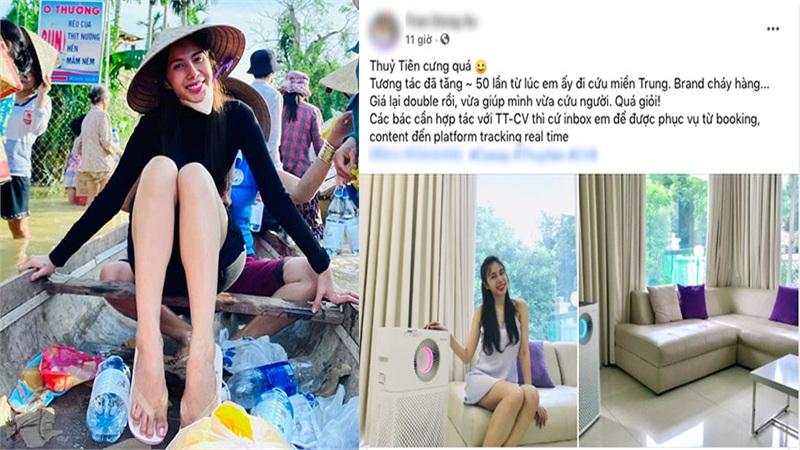 Thủy Tiên sau khi cứu trợ miền Trung: 'Giá quảng cáo nhân đôi, tương tác tăng 50 lần'
