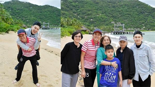 Hậu đám tang cố nghệ sĩ Chí Tài, Hoài Linh thần sắc tươi tắn đi du lịch cùng gia đình