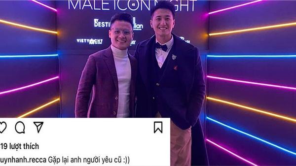 Nam diễn viên Huỳnh Anh công khai gọi Quang Hải là 'người yêu cũ'