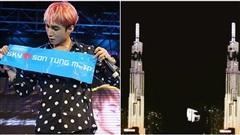 Fan 'phổng mũi' tự hào khi tên Sơn Tùng tỏa sáng trên tòa nhà cao nhất Đông Nam Á