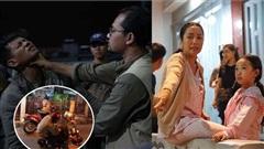 'Vợ chồng' Võ Thành Tâm, Ốc Thanh Vân kiên quyết 'đòi' thực hiện hết cảnh mạo hiểm trong 'Lật mặt: 48h'