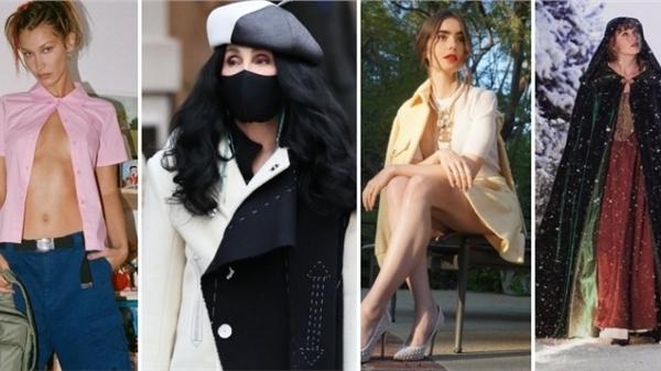 Điểm style sao US-UK tuần qua: Sao nữ 74 tuổi tựa như ác nữ của phim '101 Chú Chó Đốm', Bella Hadid ăn mặc 'khiêu khích'