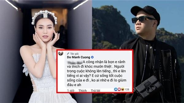 Anti-fan công khai 'cà khịa' Ninh Dương Lan Ngọc, NTK Đỗ Mạnh Cường lên tiếng đáp trả cực gắt