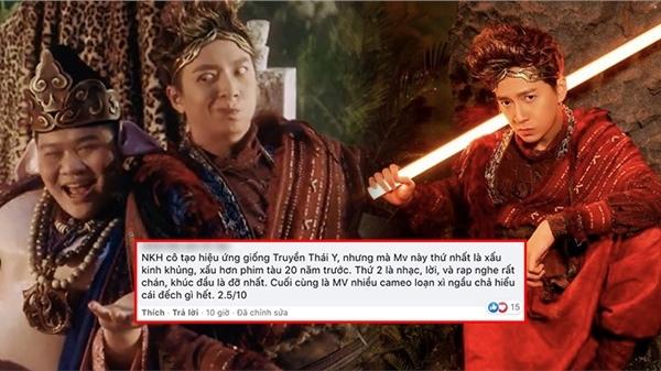 Ngô Kiến Huy tung ca khúc mới nhưng netizen lại 'gọi hồn' hit của Phí Phương Anh, cho rằng chỉ hay bằng 1/10 'Truyền Thái Y'