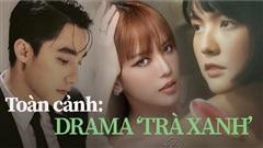 Tóm tắt'drama căng đét' vụ 'trà xanh' làm rạn nứt tình cảm Thiều Bảo Trâm và Sơn Tùng