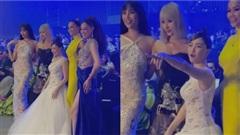 Hòa Minzy 'đọ dáng'cùng dàn Hoa hậu, nhan sắc cực phẩm nhưng chiều cao bỗng... mất dạng