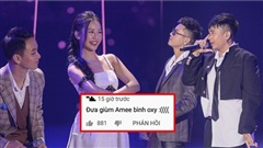 Amee gây tranh cãi vì khả năng hát live, Quân A.P và Hoàng Dũng góp mặt cũng không thể 'cứu'