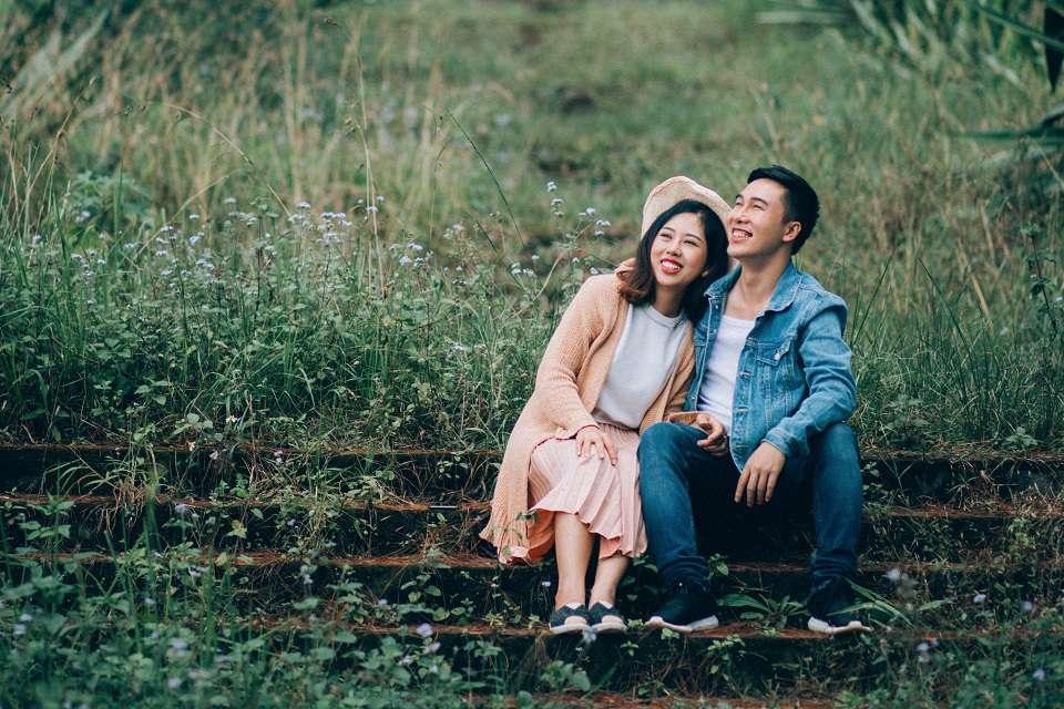'Sau đó 2 tháng mình rất bất ngờ khi thấy Trang có mặttrong chuyến đi Hàn Quốc mà mình cũng tham gia. Nhưng cả hai đều không ai có ý định chủ động kết bạn hay trò chuyện' - Xuân Tiến chia sẻ.
