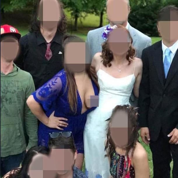 Ngắm loạt phù dâu ngực 'khủng' khiến váy như muốn bung ra, dân tình thì dán mắt vào mình
