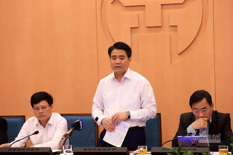 Chủ tịch Hà Nội Nguyễn Đức Chung. Ảnh: Vietnamnet