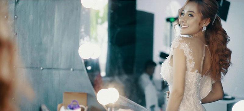 Lương Bằng Quang khiến dư luận tò mò khi tung bộ ảnh như ảnh cưới bên Ngân 98.