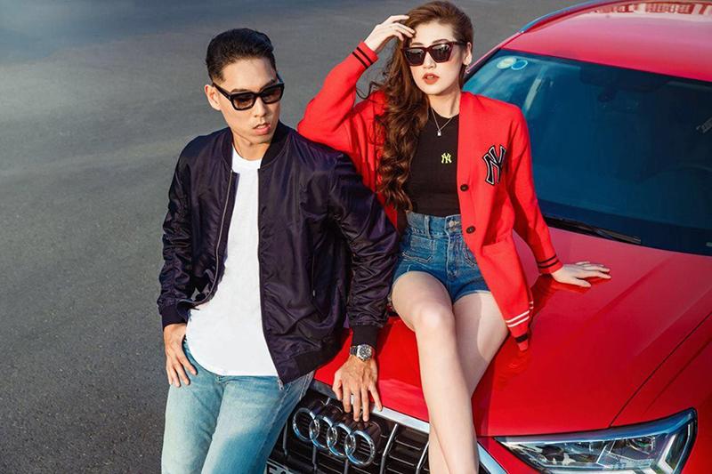 Cặp đôi diễn xuất cực ăn ý bên chiếc xe Audi Q3 trẻ trung, năng động và mạnh mẽ