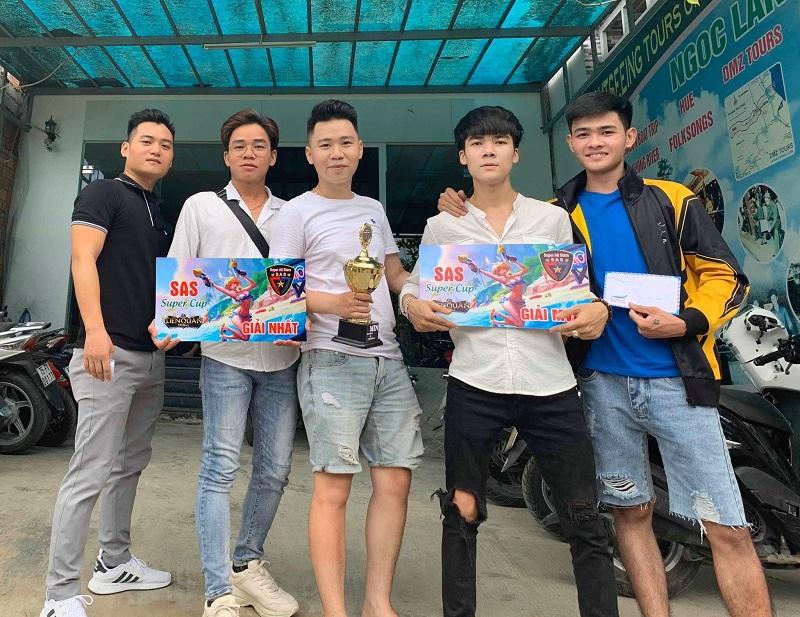 Ben Hồ cùng đồng đội đặt mục tiêu cao tại giải.