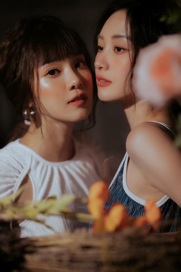 Trao nhau một ánh nhìn, Hoàng Yến Chibi - Jun Vũ đủ khiến fan 'lụi tim' 4