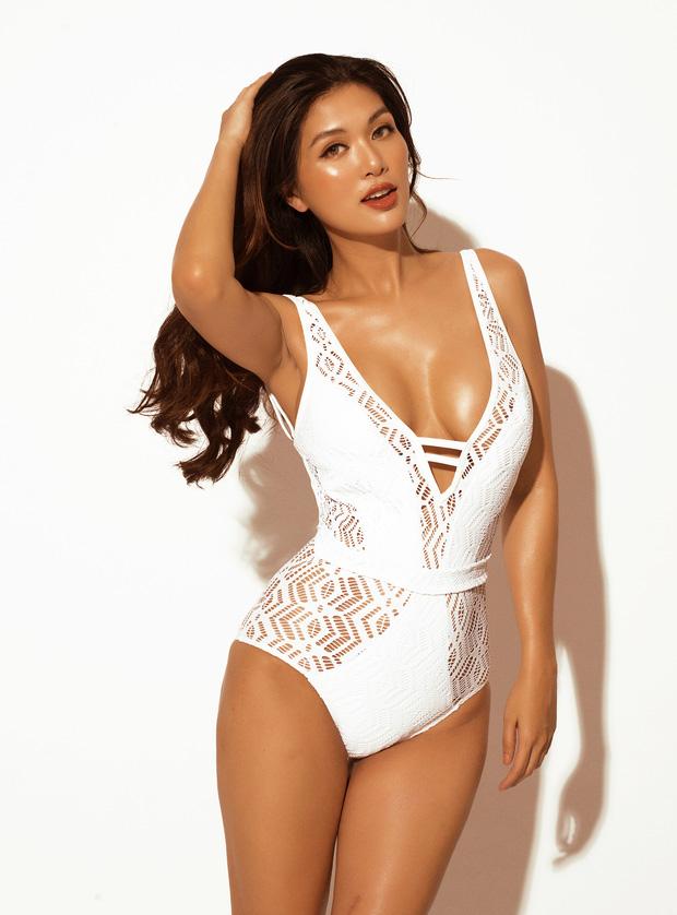 Hoa hậu đẻ 6 con khoe body cực nuột, chia sẻ: 'Cứ bầu là đẻ' 1