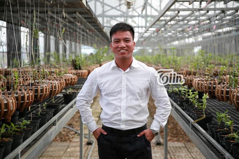 Anh Trương Quốc Chính - chủ nhân của cây lan huyền thoại Bướm đại ngàn