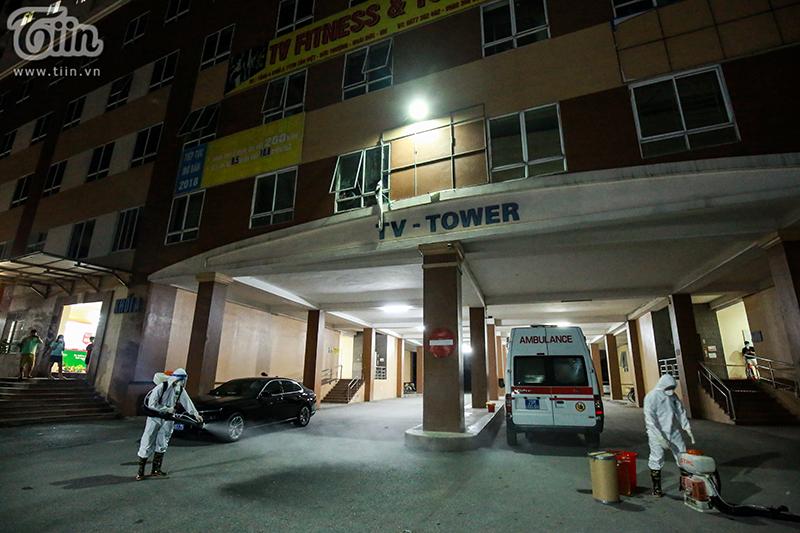 NÓNG: Hà Nội phong tỏa 1 chung cư có bệnh nhân nhiễm Covid-19 ở Hoài Đức 2