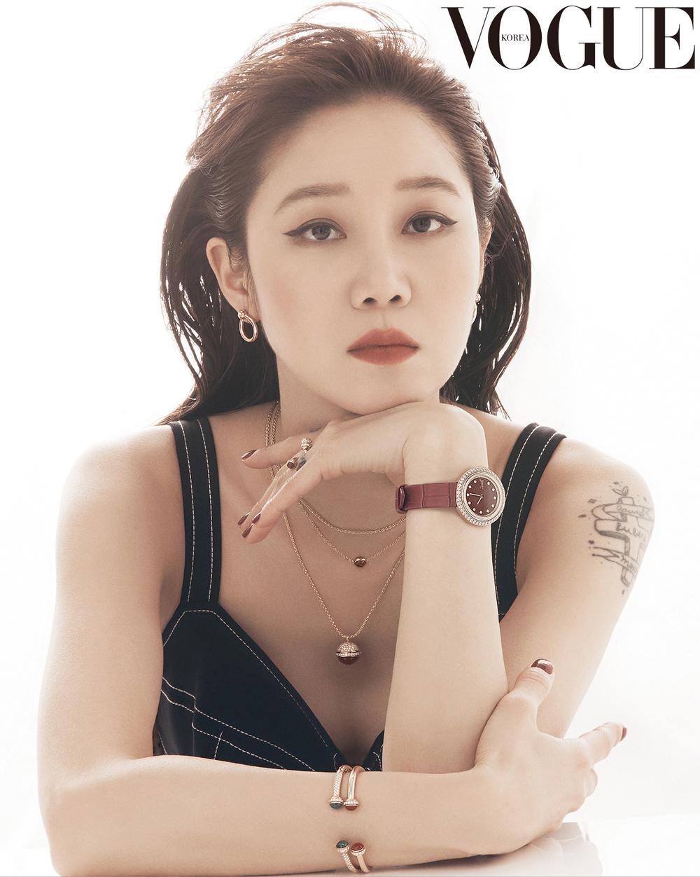 Nhan sắc trẻ trung ở tuổi 40 củaGong Hyo Jin.