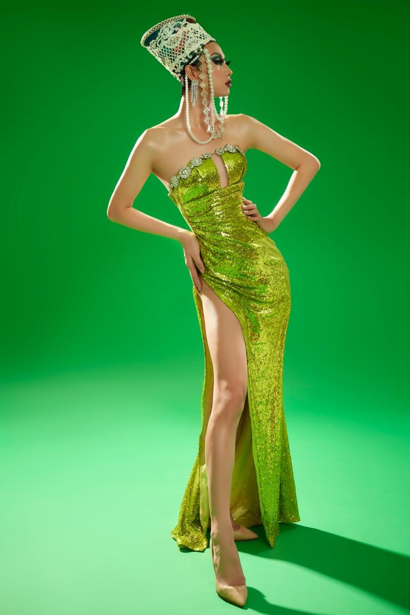 Hoa hậu Khánh Vân hóa thân thành Drag Queen, đọ sắc cực 'gắt' với BB Trần, Hải Triều và Lynk Lee 7