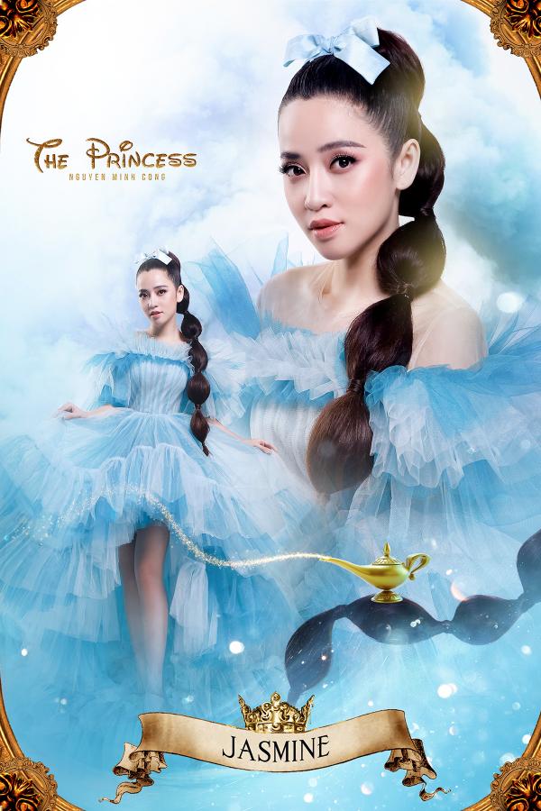 Puka sẽ mang đến hình tượng nàng công chúa vừa tinh nghịch, vừa có chút nổi loạn Jasmine trong câu chuyện Aladin và cây đèn thần nổi tiếng. Đó là một hình ảnh gợi nhớ đến hình ảnh Jasmine trong bộ phim do Disney sản xuất năm 1992.