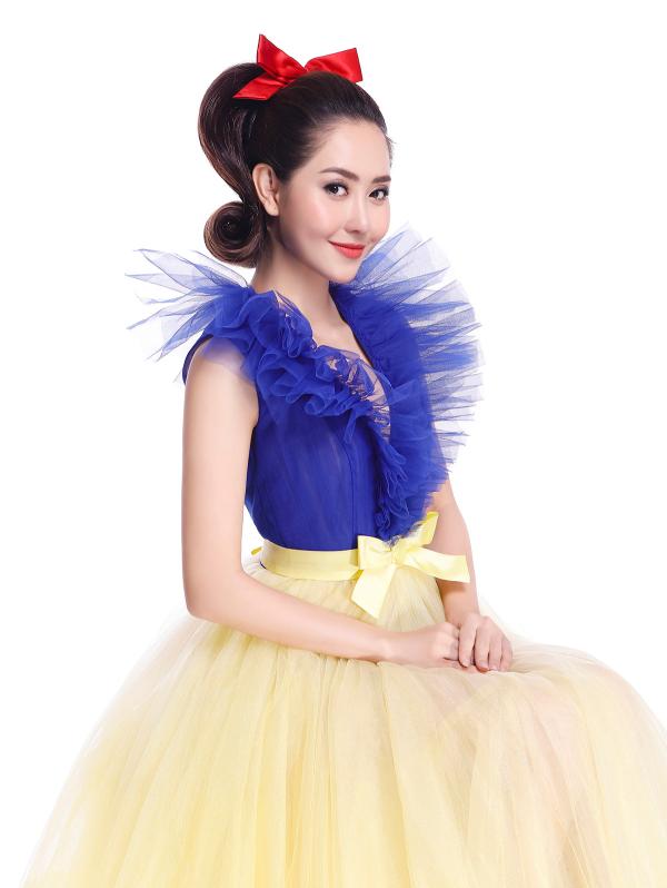 Puka, Khổng Tú Quỳnh, Tường Vi, Huỳnh Tiên,Bảo Hàlà 5 nàng công chúa cuối cùng xuất hiện trong Postershow diễn The Princess 8