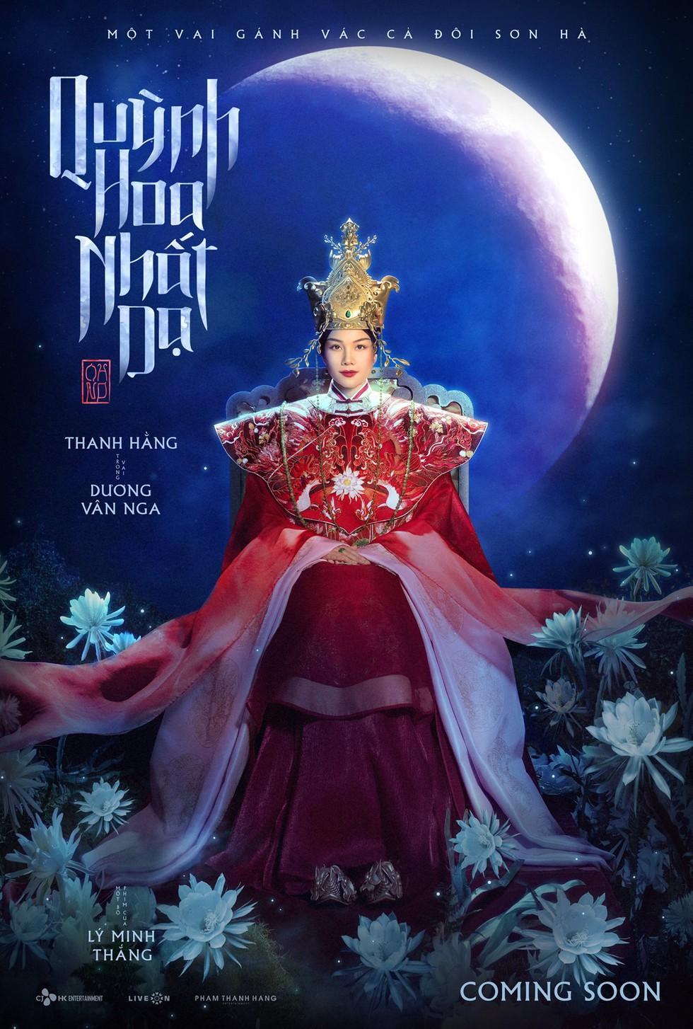 Tạo hình Thanh Hằng trong phim