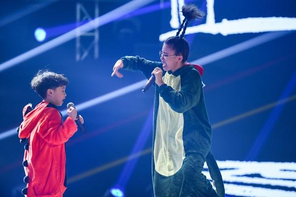 'King of Rap' tập 11: RichChoi - Gizmo tạo kỳ tích khi phối opera và rap, HLV Datmaniac 'rơi lệ' vì Nhật Hoàng 9