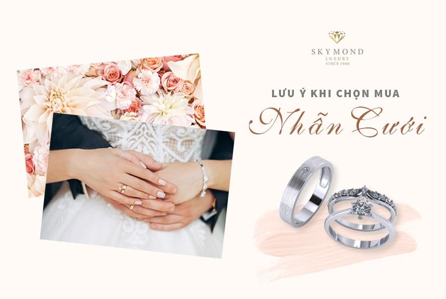 Làm thế nào mua nhẫn cưới để cả hai vừa ý 0