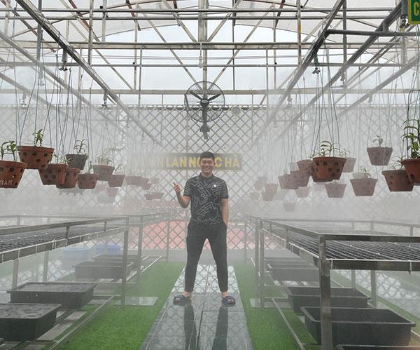Đỗ Ngọc Hà: Trở thành tỷ phú trẻ nhờ trồng và kinh doanh lan phi điệp quý hiếm 1