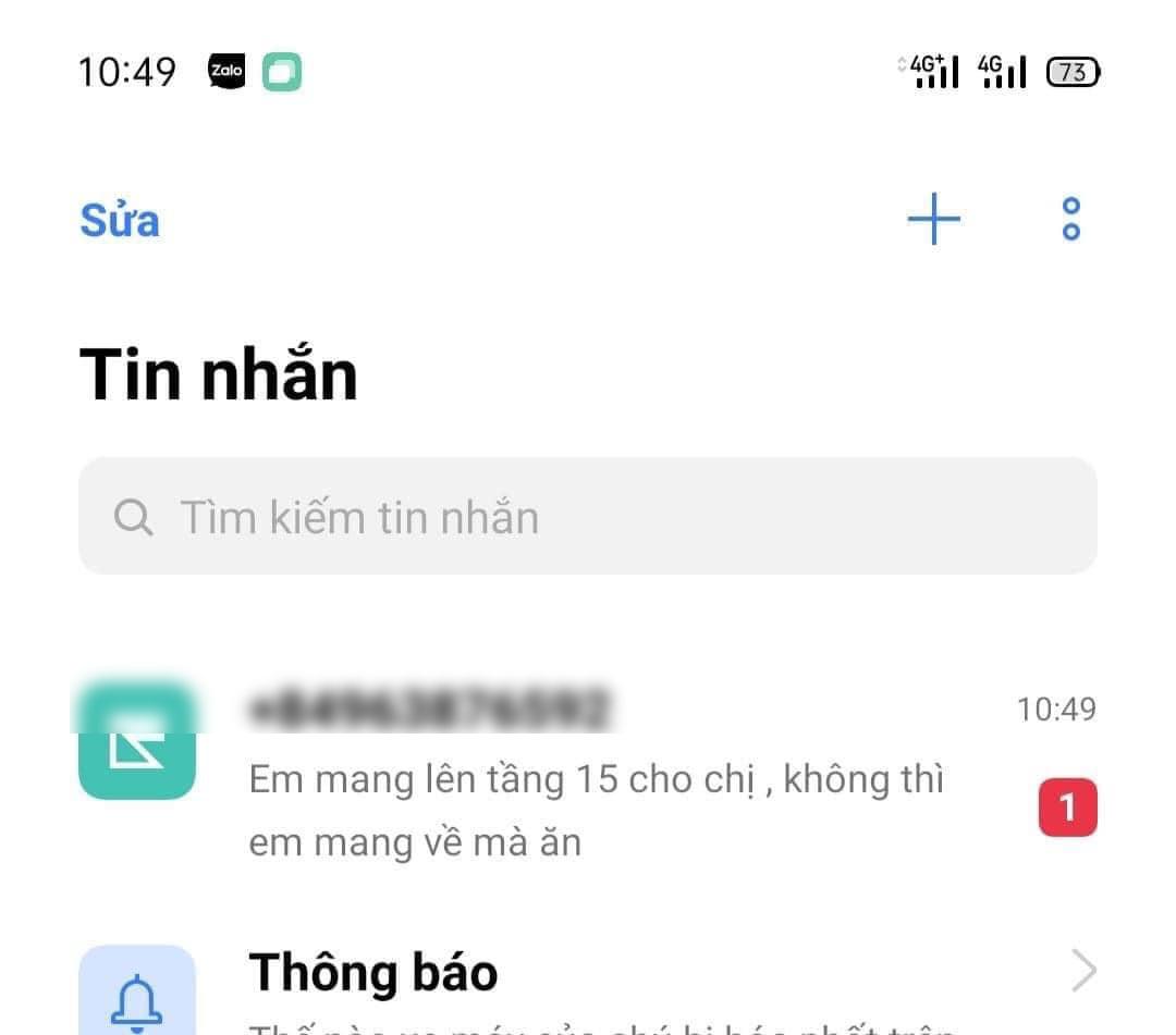 Tin nhắn yêu cầu của khách hàng 'thượng đế' khiến nhiều người bức xúc.