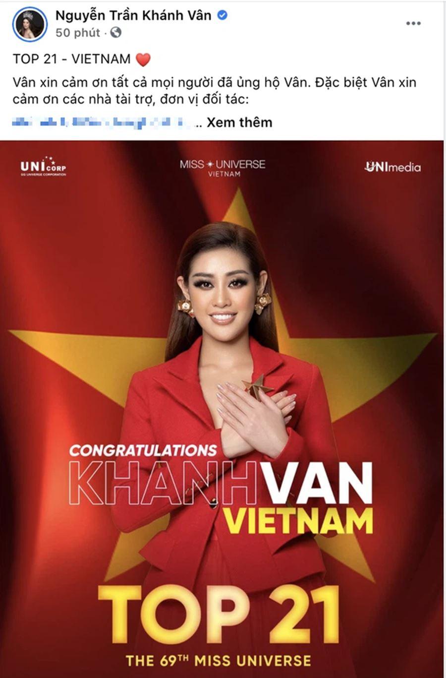 Fan Việt tiếc nuối khi Khánh Vân trượt Top 10 Miss Universe 2020 5