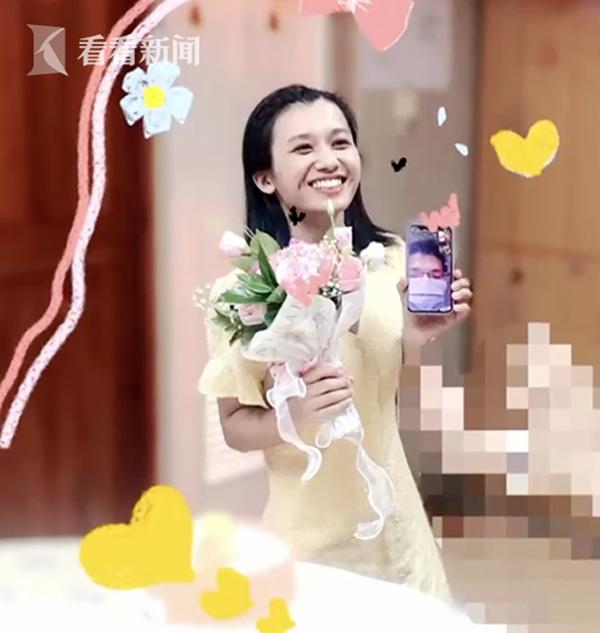 Y tá chống dịch tổ chức đám cưới trực tuyến, cách màn hình điện thoại trao lời yêu thương với chồng 2