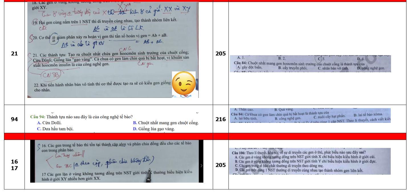 Một thầy giáo đã chỉ ra sự giống nhau đến 80% của đề ôn tập và đề thi chính thức.