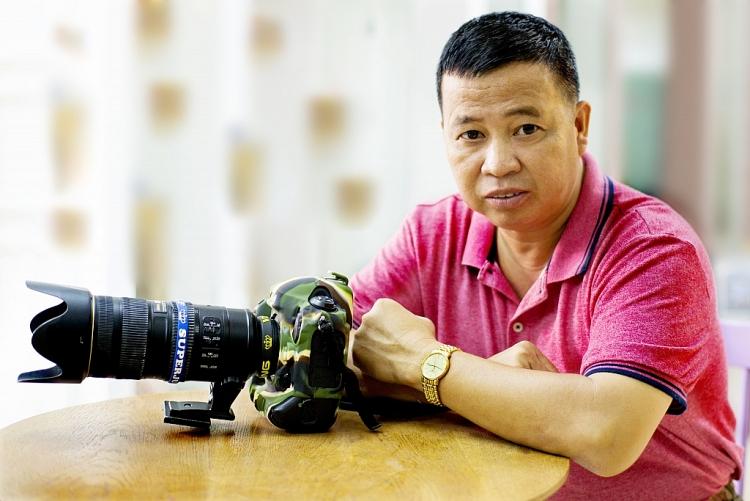 Nhà báo - nhiếp ảnh gia Lữ Đắc Long