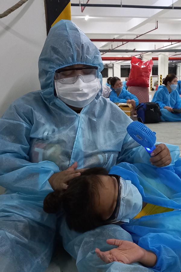 Diễn viên hàiKim Đào và con trai
