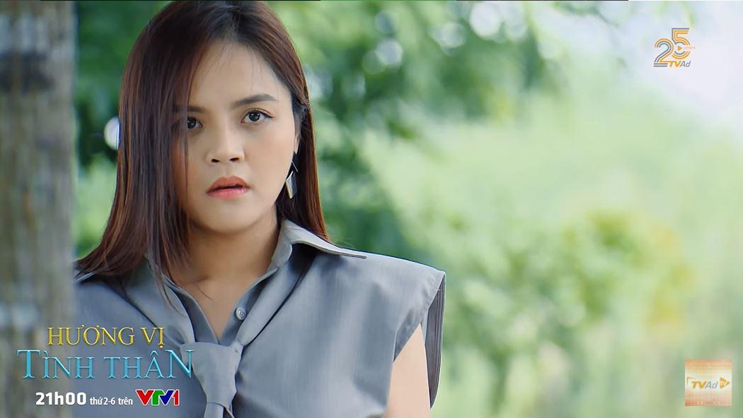 'Hương vị tình thân' trailer tập 37 (p2): Thy bàng hoàng chứng kiến Huy và 'trà xanh' khóa môi nhau 1