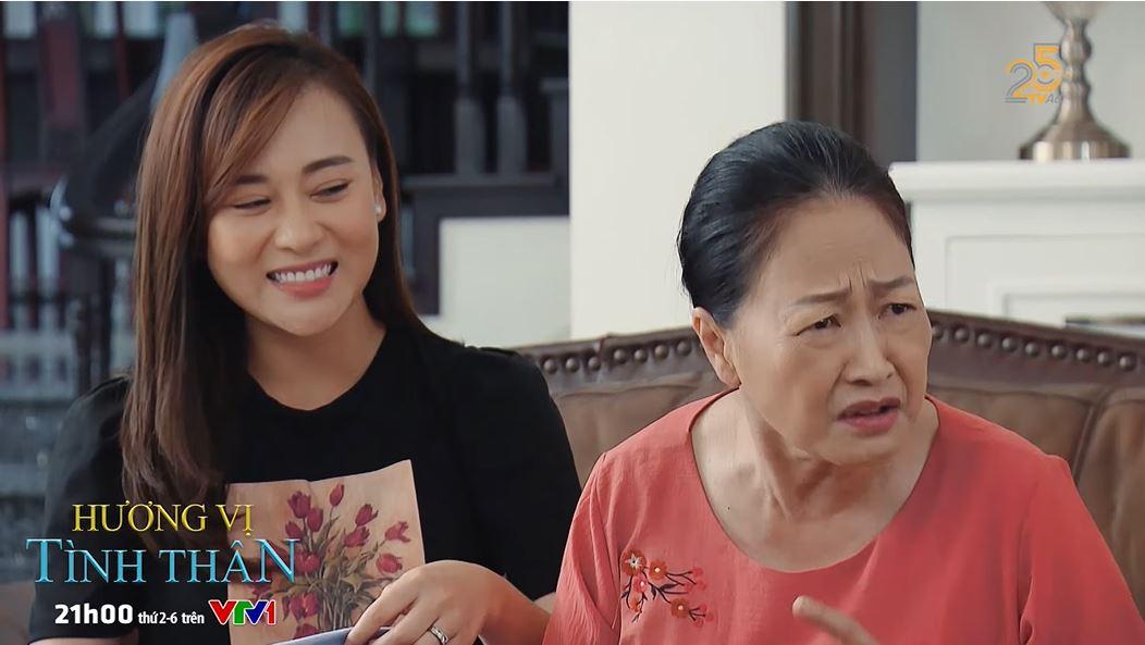 'Hương vị tình thân' trailer tập 37 (p2): Thy bàng hoàng chứng kiến Huy và 'trà xanh' khóa môi nhau 4