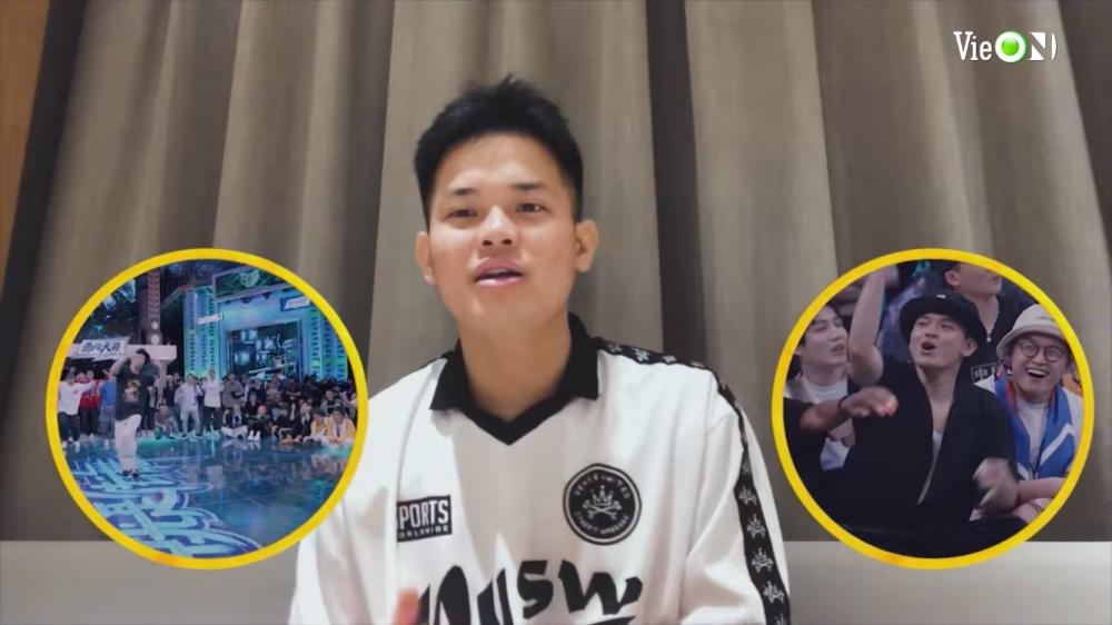 Thí sinh Việt bị stress vì Trương Nghệ Hưng khi tham gia cuộc thi nhảy ở Trung Quốc 1