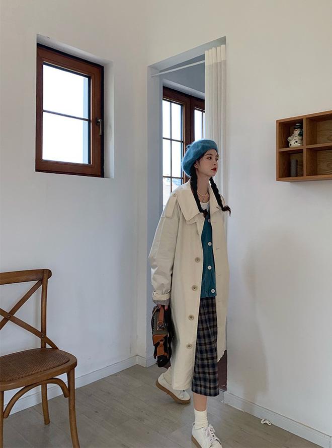 Lạnh thế này diện trench coat là 'perfect', nhưng không phải chị em nào cũng biết mix đồ cho thời thượng đâu nhé! 4