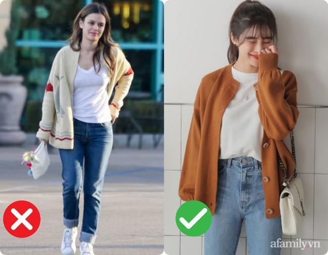 3 kiểu diện cardigan lập tức biến bạn thành thảm họa thời trang, kém sang không cứu nổi 1