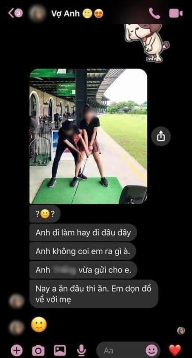 Nhờ dân mạng năn nỉ vợ tha thứ sau khi bị chụp trộm ảnh chơi golf với 'chị đồng nghiệp', anh chồng liền bị chửi té tát thêm vì chi tiết phản bội rành rành 0