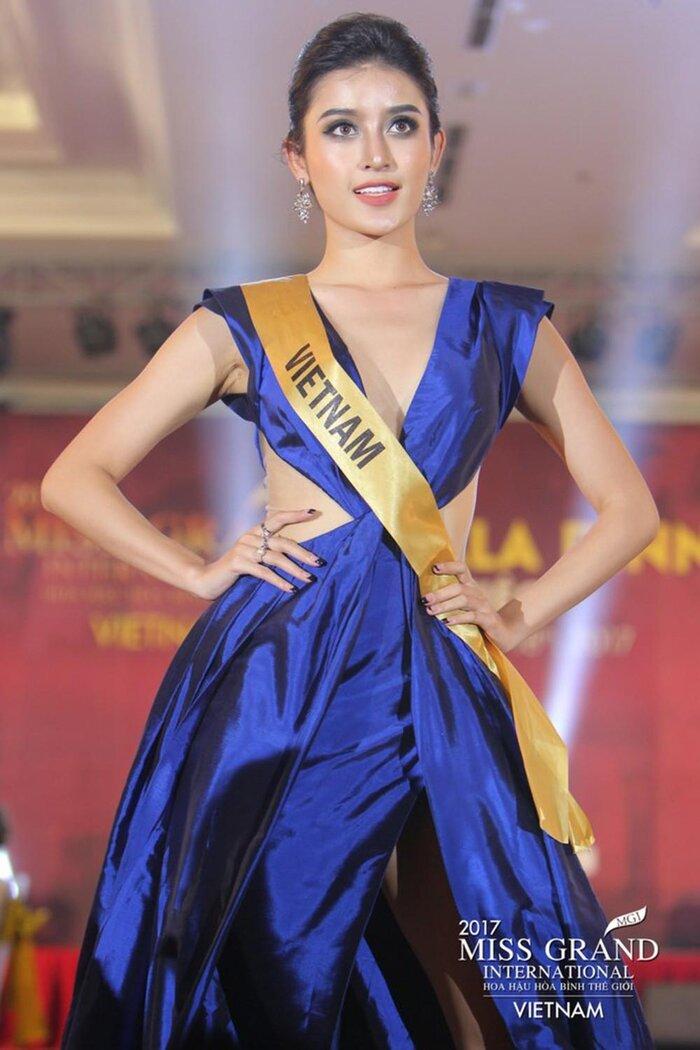 Huyền My - Top 10 Miss Grand International 2017